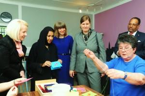 Am 7. Mai besuchte die saudi-arabische Familienministerin das MGH