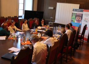 Sitzung der Steuerungsgruppe LoBü-C am 3. Juli 2014 im Ratssaal der Technischen Universität Chemnitz