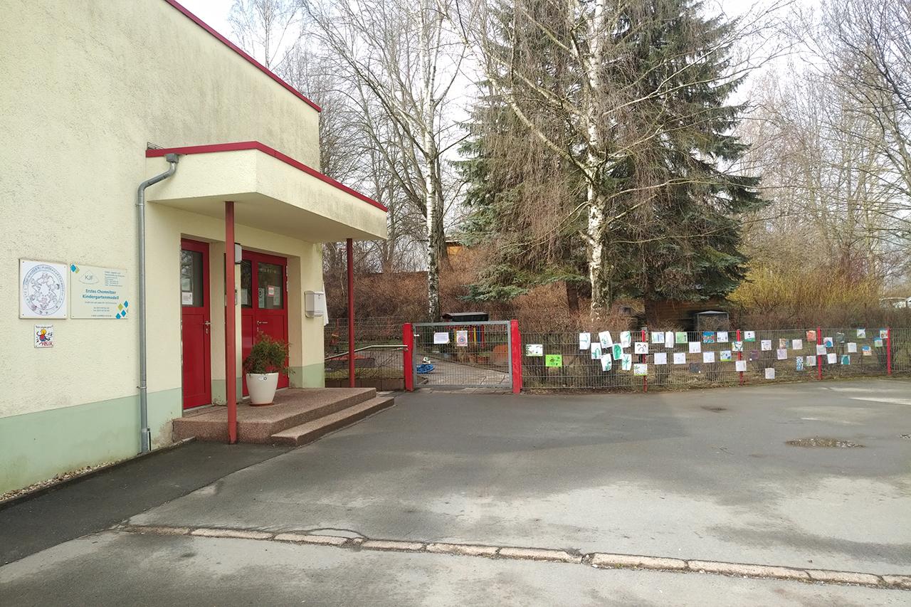 FREILUFTGALERIE Kita 'Erstes Chemnitzer Kindergartenmodell'