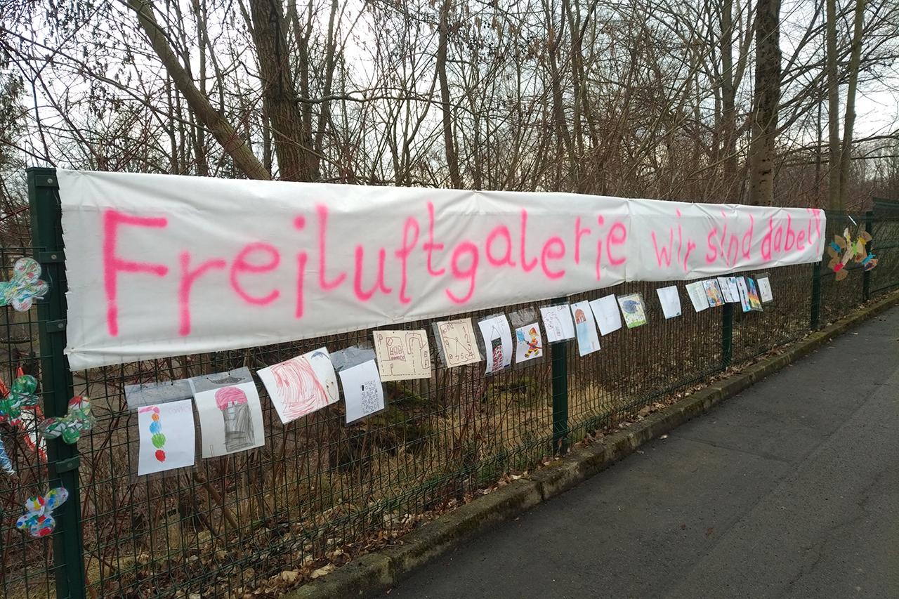FREILUFTGALERIE AWO Kinderhaus 'Schmetterling'