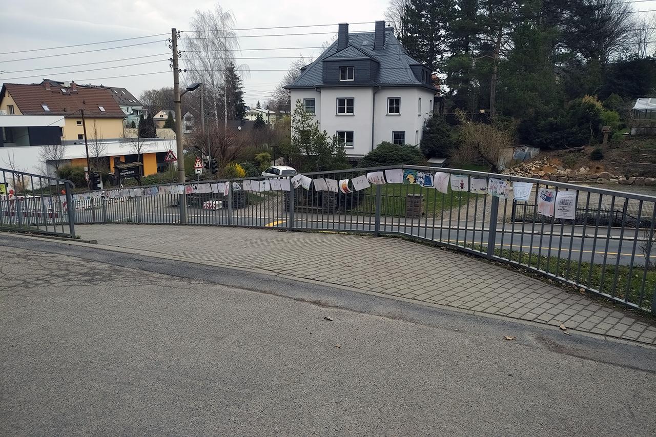 FREILUFTGALERIE Kirchner-Grundschule Wittgensdorf
