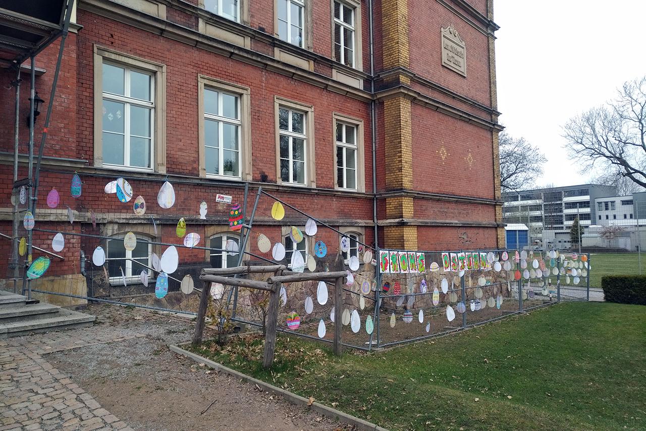FREILUFTGALERIE Schule Altchemnitz